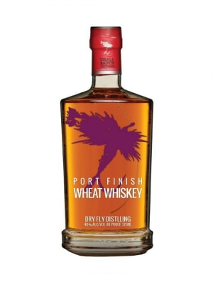 Dry Fly Cask Port Finish Wheat Whiskey 70cl
