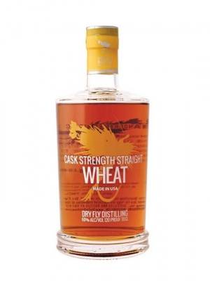 Dry Fly Cask Strength Wheat Whiskey 70cl