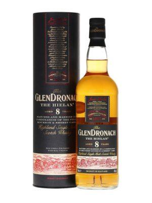 The Glendronach 8 Year Old Single Malt Scotch Whisky 70cl