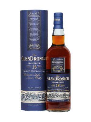 Glendronach Allardice 18 Year Old Single Malt Scotch Whisky 70cl