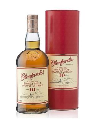Glenfarclas 10 Year Old Single Malt Scotch Whisky 70cl