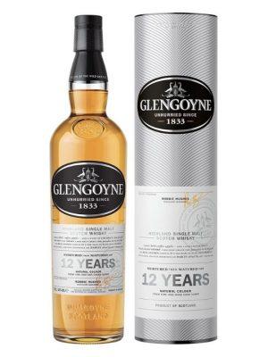 Glengoyne 12 Year Old 43% Single Malt Scotch Whisky