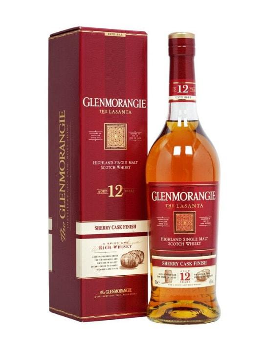 glenmorangie lasanta 12 yo single malt whisky 70cl