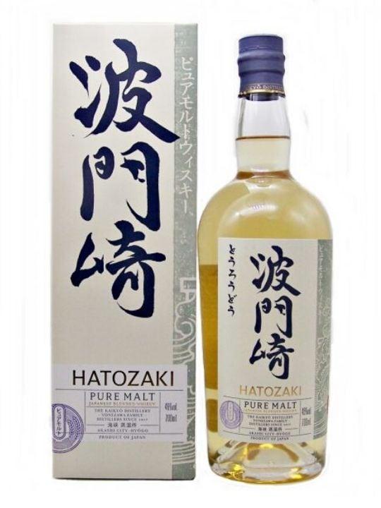 hatozaki japanese whisky pure malt 70cl