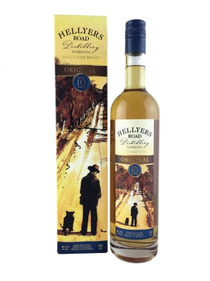 Hellyers Road 10 Year Old Australian Single Malt Whisky 70cl