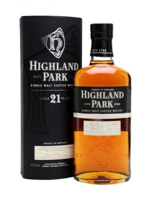 Highland Park 21 Year Old Single Malt Scotch Whisky 70cl