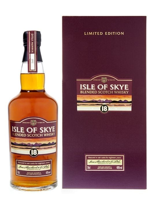 isel of skye 18 yo whisky limited edition 70cl