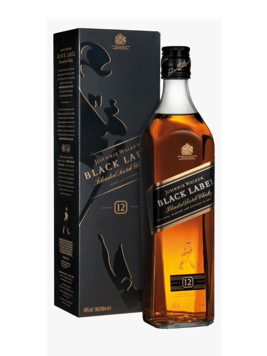 johnnie walker whisky black label 12 yo 70cl