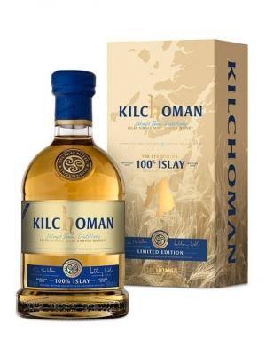 Kilchoman 100% Islay 6th Edition Single Mlat Scotch Whisky 50% 70cl