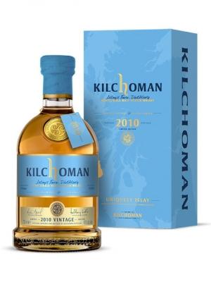 Kilchoman 2010 Vintage Single Malt Scotch Whisky 70cl