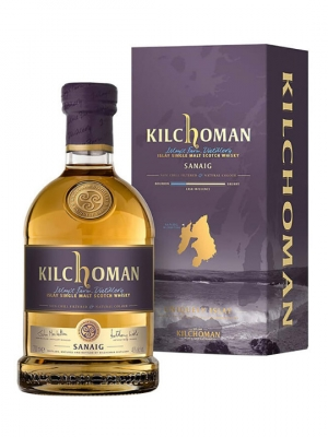 Kilchoman Sanaig Single Mlat Scotch Whisky 70cl 46%