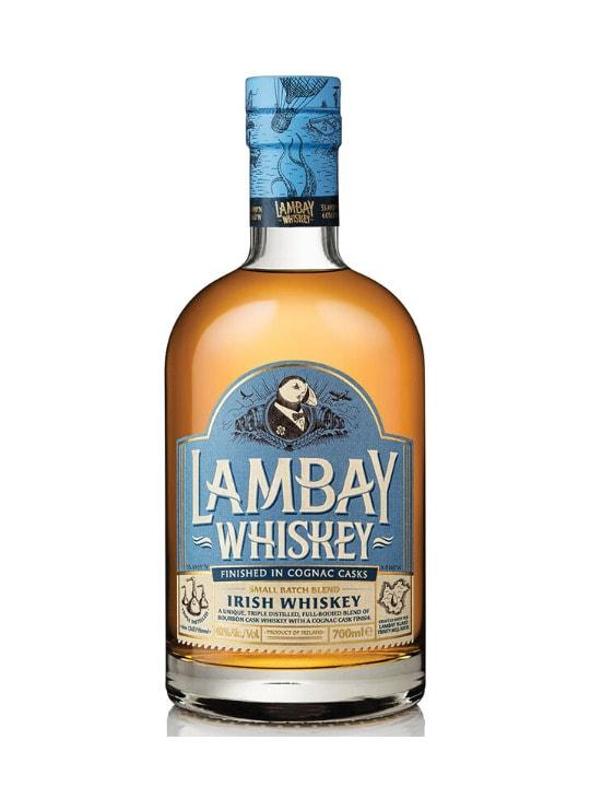 lambay blended irish whiskey cognac cask finish 70cl