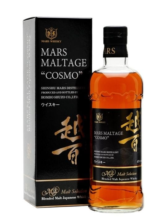 mars maltage cosmo japanese whisky 70cl
