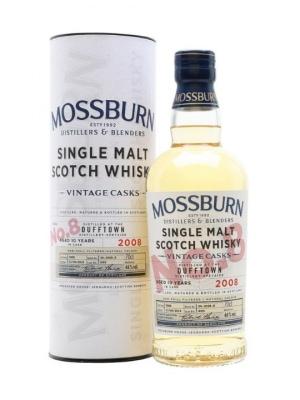 Mossburn Casks No8 Dufftown Single Malt Scotch Whisky 70cl