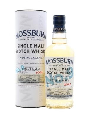 Mossburn Casks No9 Royal Brackla Single Malt Scotch Whisky 70cl