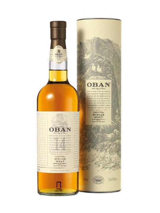 oban 14 yo single malt scotch whisky 70cl
