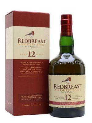 Redbreast 12 Year Old 40% Single Pot Still Irish Whiskey 70cl