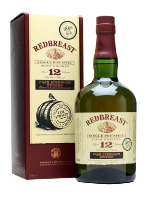 Redbreast 12 Year Old Cask Strenght Edition Single Pot Still Irish Whiskey 70cl