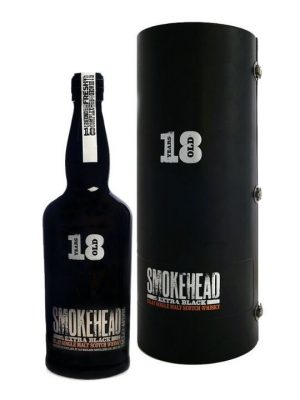 Smokehead Extra Black 18 Year Old Islay Single Malt Scotch Whisky 70cl
