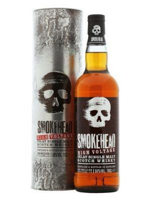 Smokehead High Voltage Single Malt Scotch Whisky 70cl