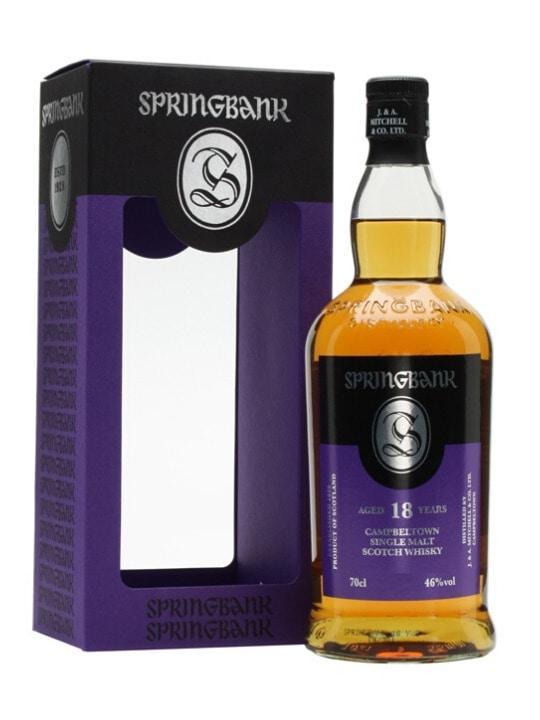 springbank 18 yo single malt 70cl