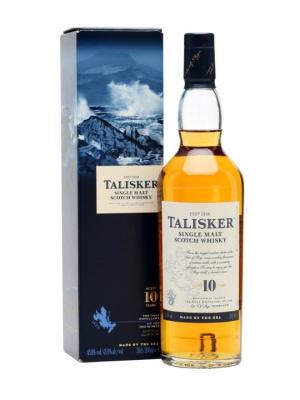Talisker 10 Year Old Single Malt Scotch Whisky 70cl