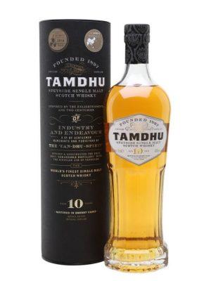 Tamdhu 10 Year Old Single Malt Scotch Whisky 70cl