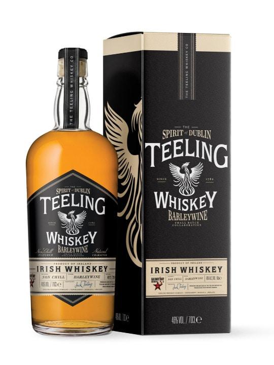 teeling barlewine irish whiskey 70cl
