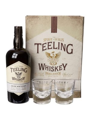 Teeling Small Batch Irish Whiskey Two Glass Gift Pack