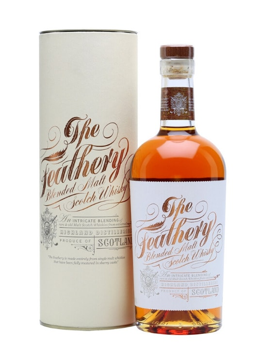the feathery blended malt whisky 70cl