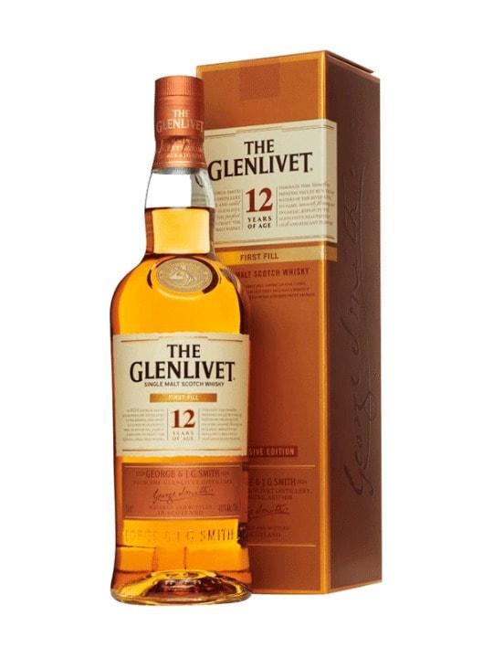 the glenlivet 12 yo first fill single malt 70cl