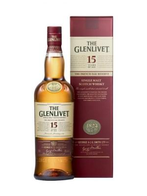 The Glenlivet 15 Year Old French Oak Reserve Scotch Whisky 70cl