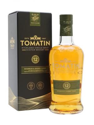 Tomatin 12 Year Old Single Malt Scotch Whisky 70cl
