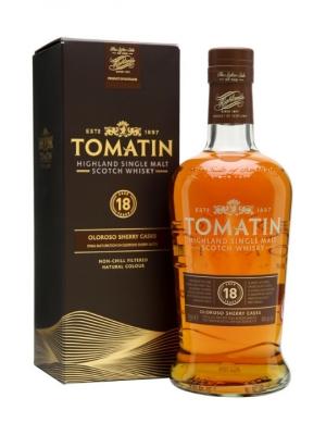Tomatin 18 Year Old Single Malt Scotch Whisky 70cl