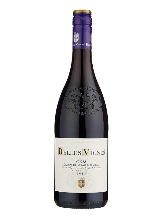 belles vignes grenache syrah marselan 75cl