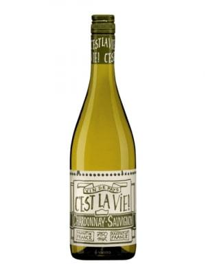 C'est la Vie Chardonnay/Sauvignon Blanc 2014 75cl