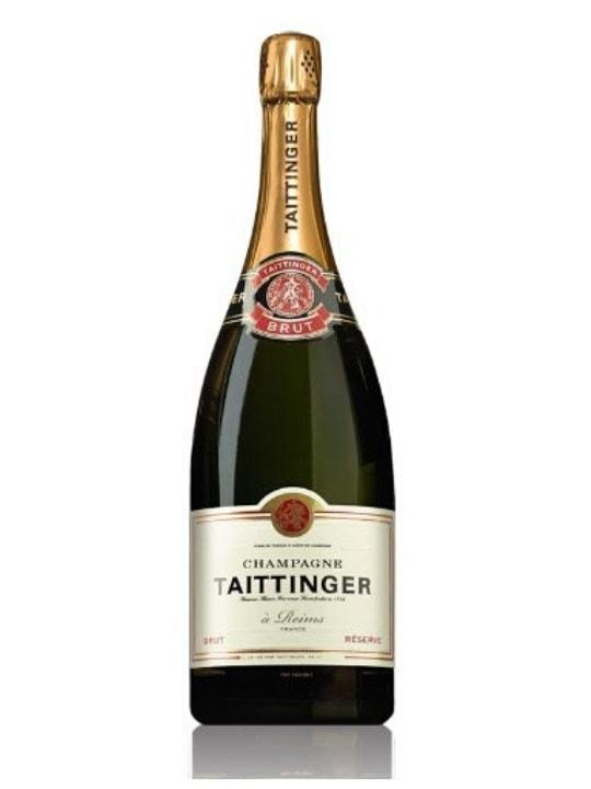 taittinger brut reserve champagne 150cl